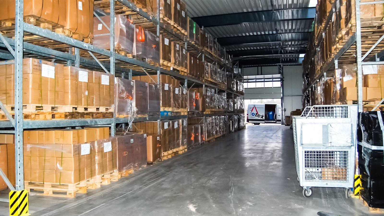 Grote voorraad hijsbanden EBotex BV