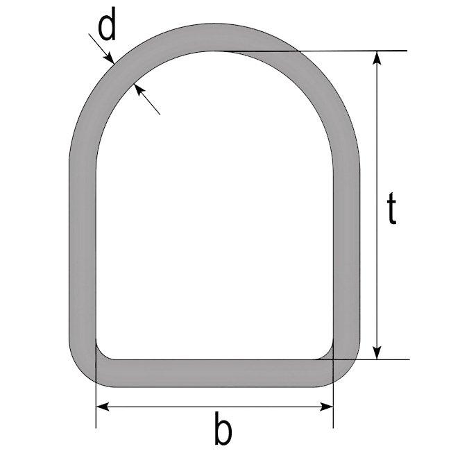 Ebotex hijsband aansluiten triangel