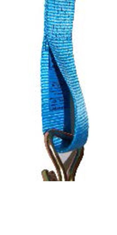 Beschermen van sjorbandlabels Label in lus