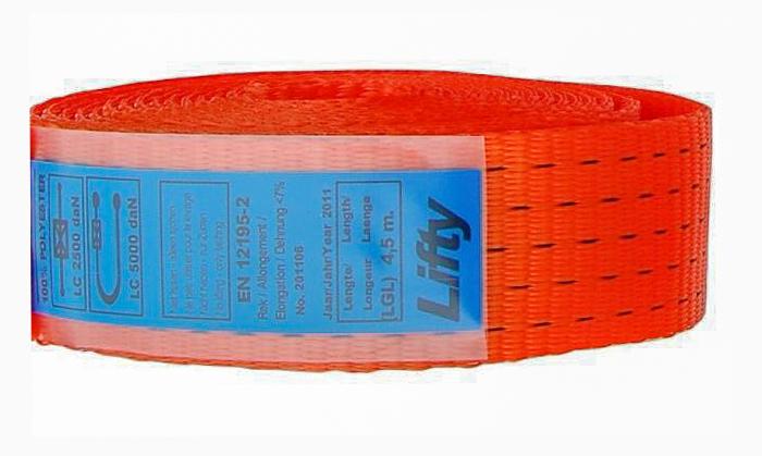 Label bescherming ladingvastzetsystemen EBotex