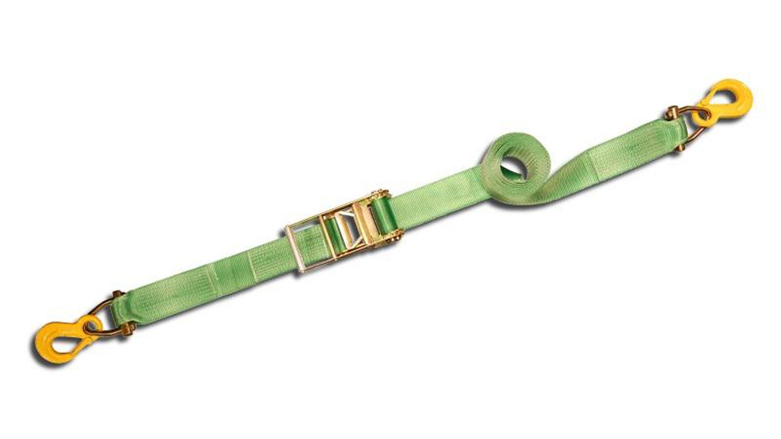 Sjorband 2-delig voorzien van haken
